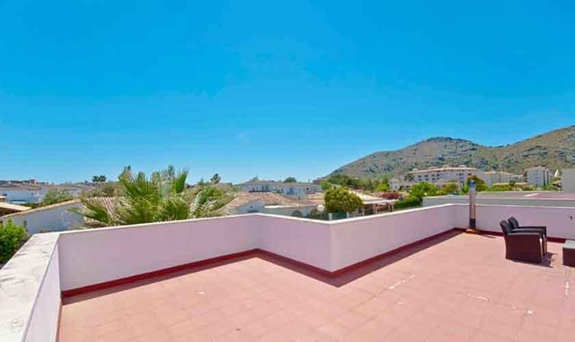 Dachterrasse Ferienhaus Mallorca Alcudia PM 3651