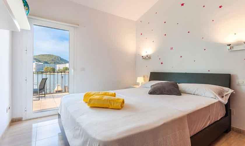 Schlafzimmer Ferienhaus Mallorca PM 3652