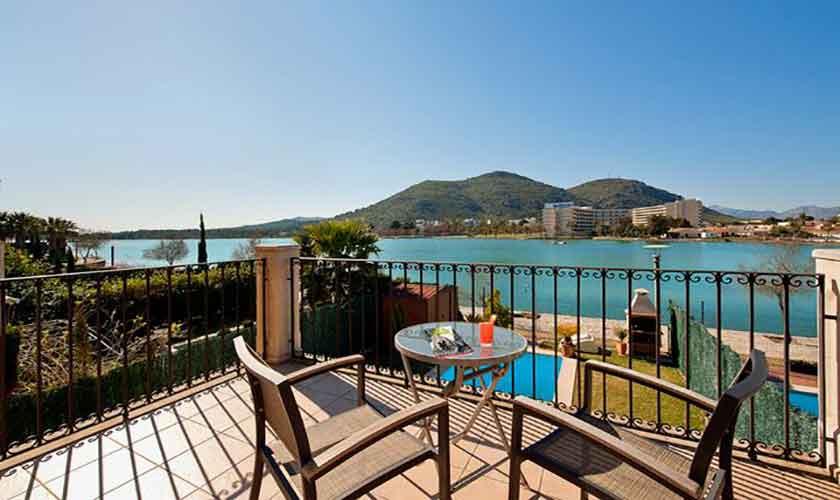 Balkon Ferienhaus Mallorca PM 3652