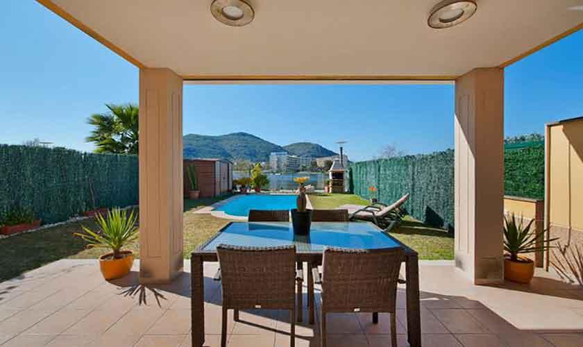 Terrasse und Ferienhaus Mallorca PM 3652