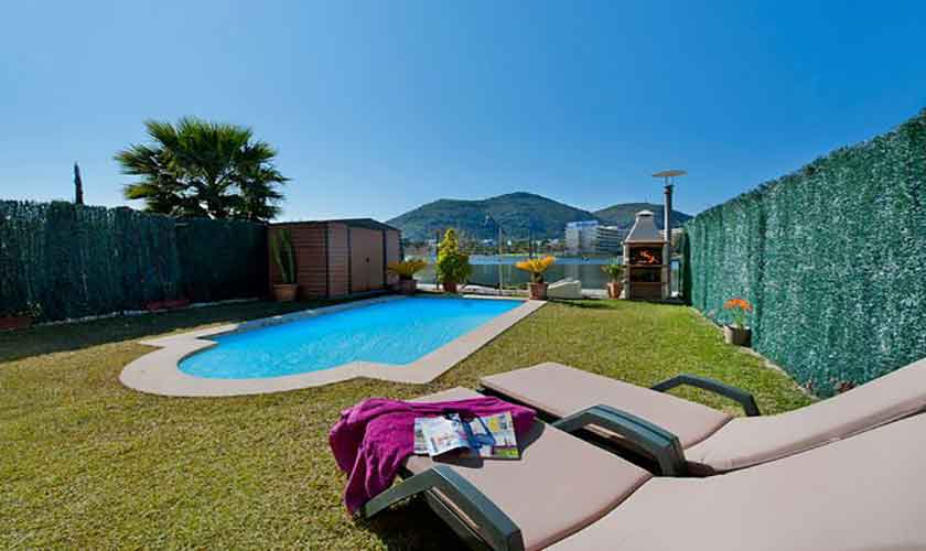 Poolblick Ferienhaus Mallorca PM 3652
