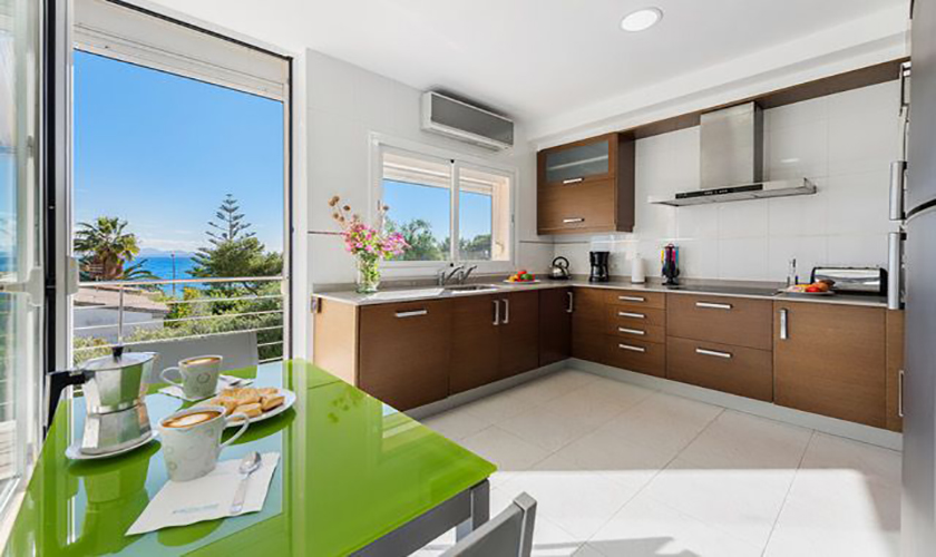 Küche Ferienvilla Mallorca Meerblick PM 3653