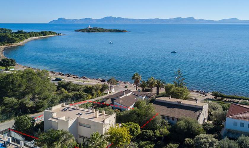 Lage der Ferienvilla Mallorca Meerblick PM 3653