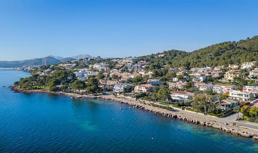 Küste Ferienvilla Mallorca Meerblick PM 3653
