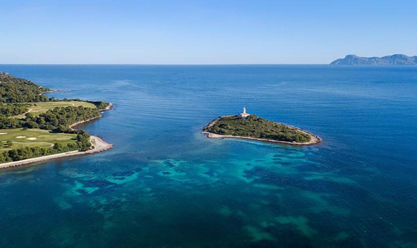 Meerblick Ferienvilla Mallorca PM 3653