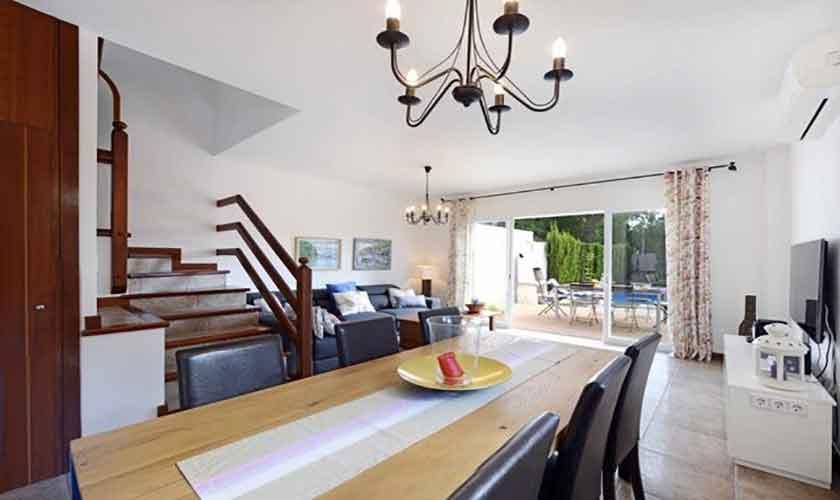 Esstisch Ferienhaus Mallorca Alcudia PM 3654