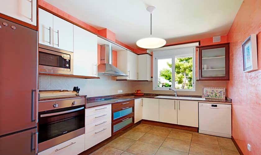 Küche Ferienhaus Mallorca Alcudia PM 3654