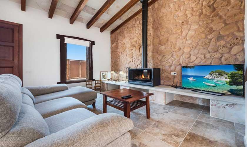 Wohnzimmer Finca Mallorca bei Muro PM 3657