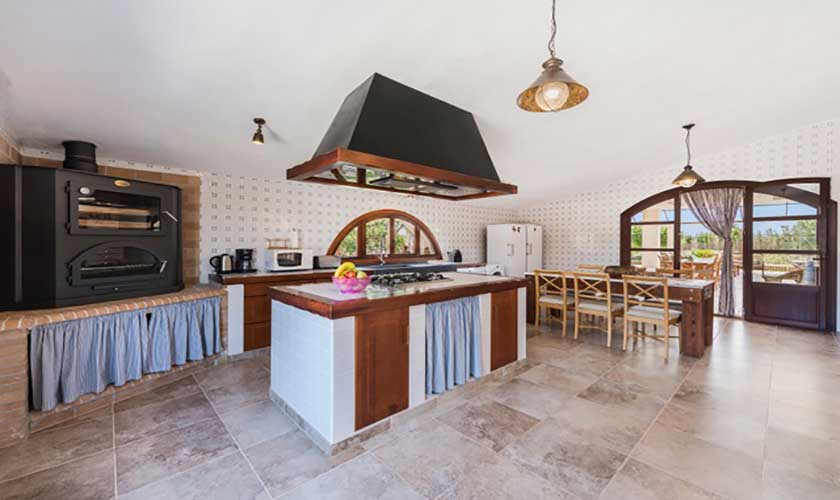 Küche Finca Mallorca bei Muro PM 3657