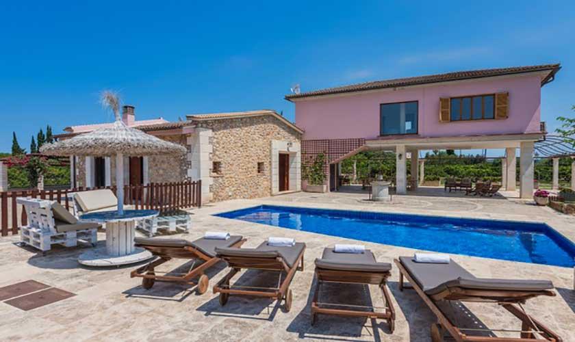 Pool und Finca Mallorca bei Muro PM 3657