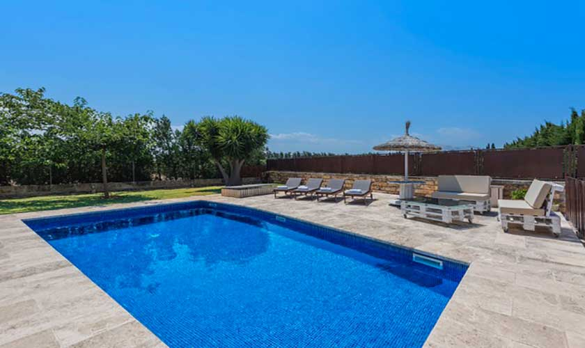 Pool der Finca Mallorca bei Muro PM 3657