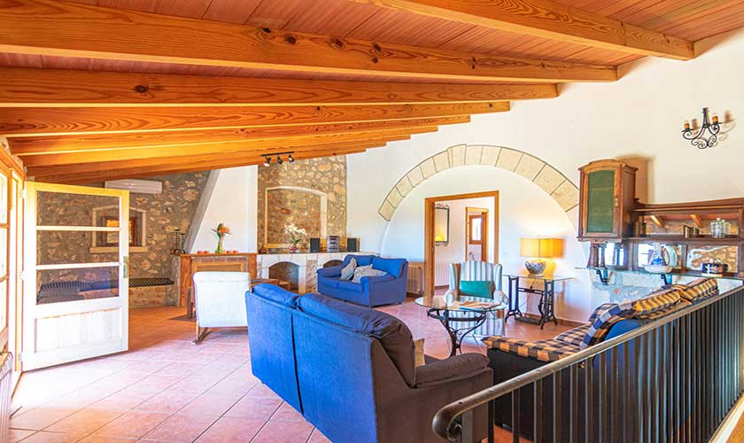 Wohnraum oben Finca Mallorca PM 3660