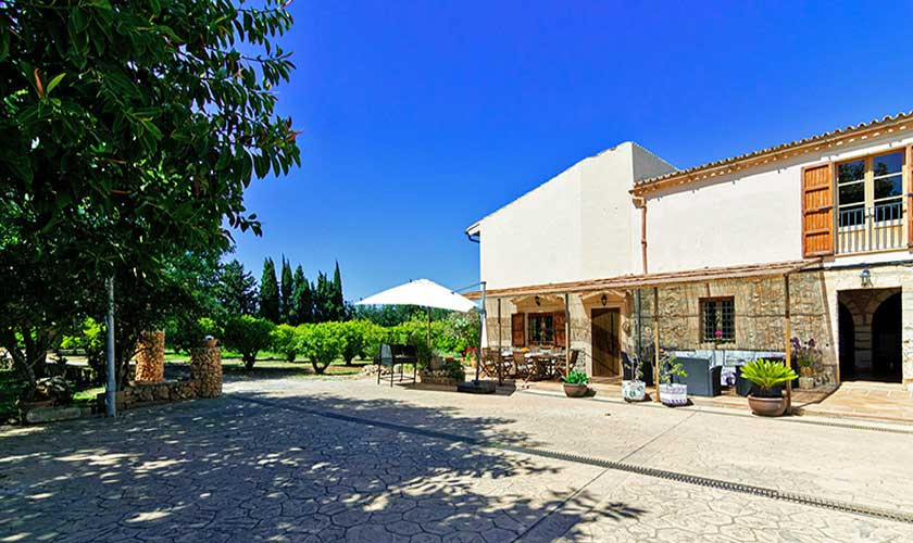 Blick auf die Finca Mallorca PM 3660