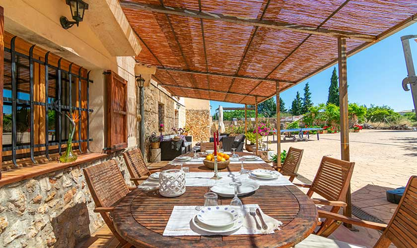 Esstisch Terrasse Finca Mallorca PM 3660