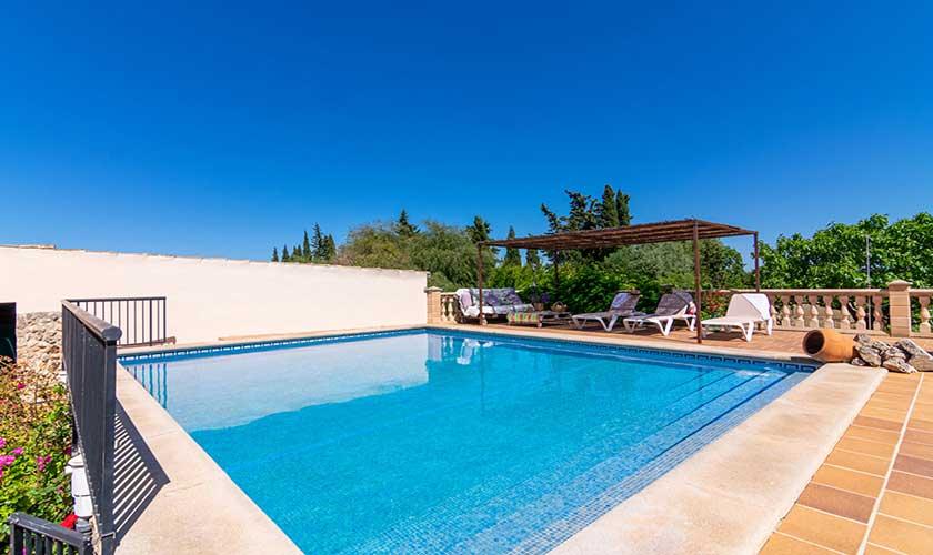 Pool und Terrasse Finca Mallorca PM 3660