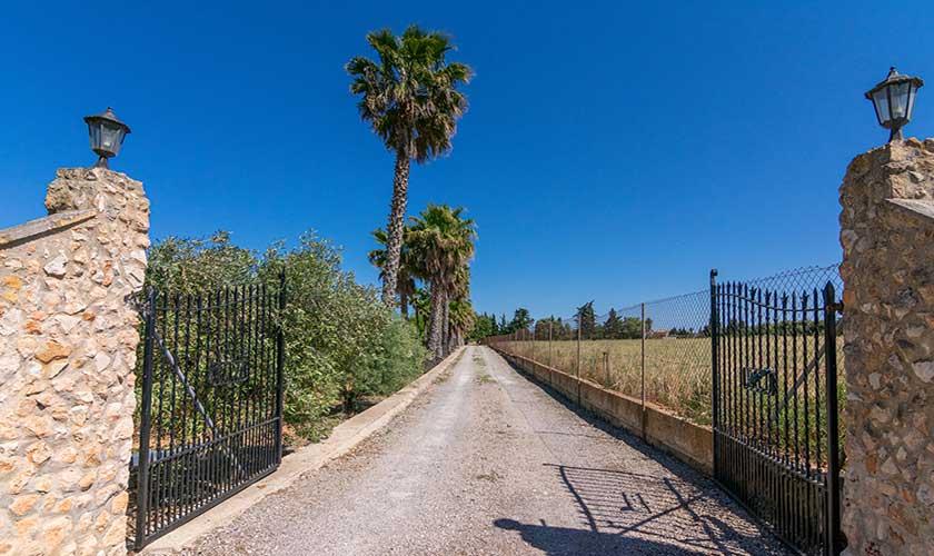 Eingang Finca Mallorca PM 3660