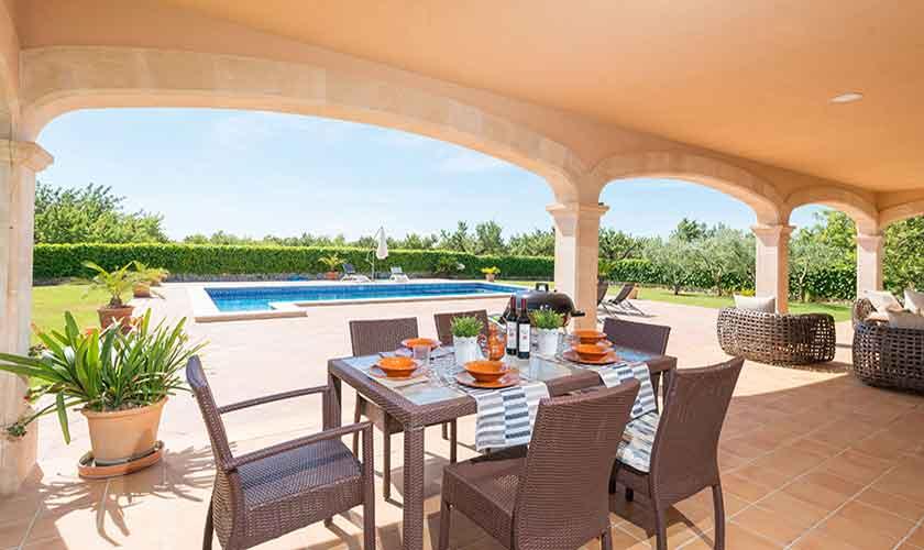 Terrasse und Finca Mallorca PM 3705