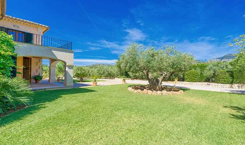 Rasenflächen Finca Mallorca PM 3705