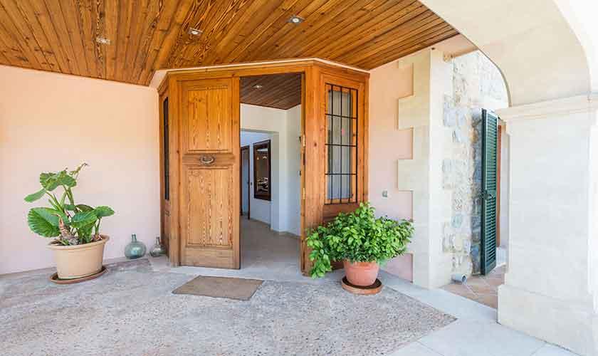 Eingang Finca Mallorca PM 3705