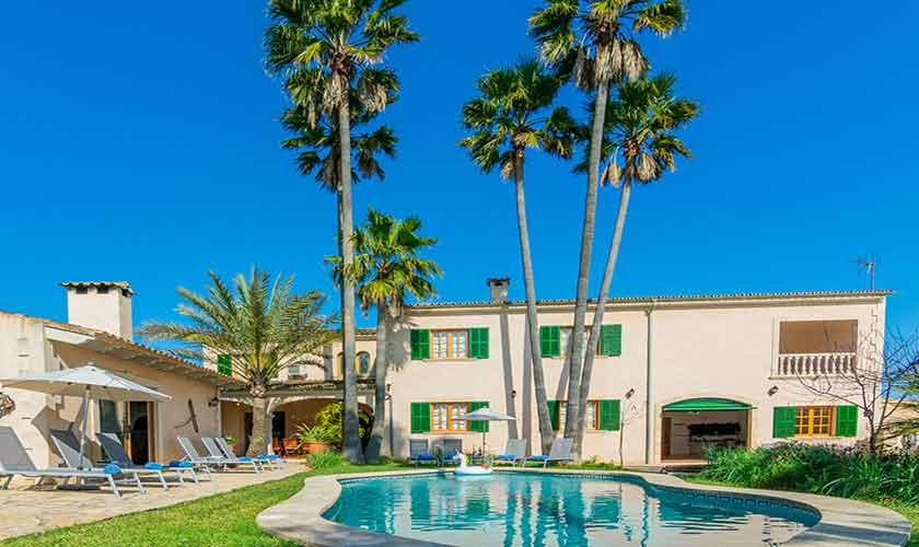 Pool und Finca Vera Mallorca PM 3710