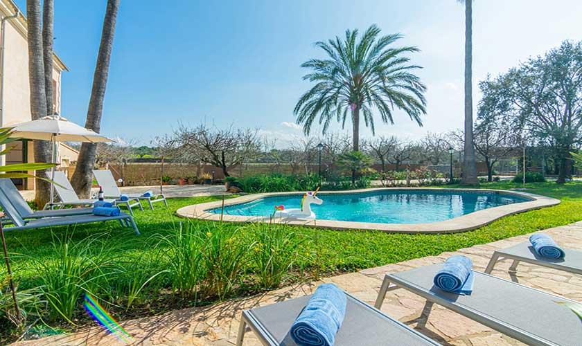 Poolblick Finca Vera Mallorca PM 3710