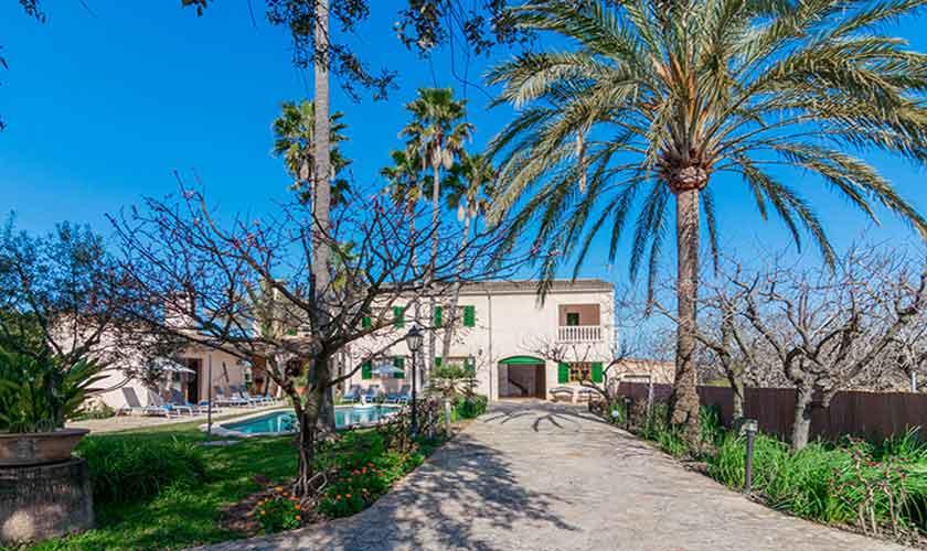Blick auf die Finca Vera Mallorca PM 3710