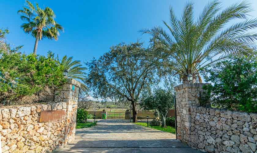 Eingang Finca Vera Mallorca PM 3710