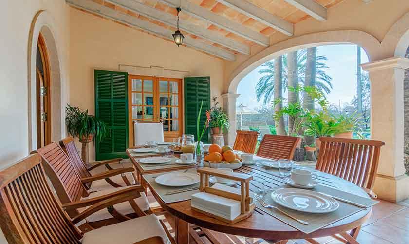 Terrasse Finca Vera Mallorca PM 3710