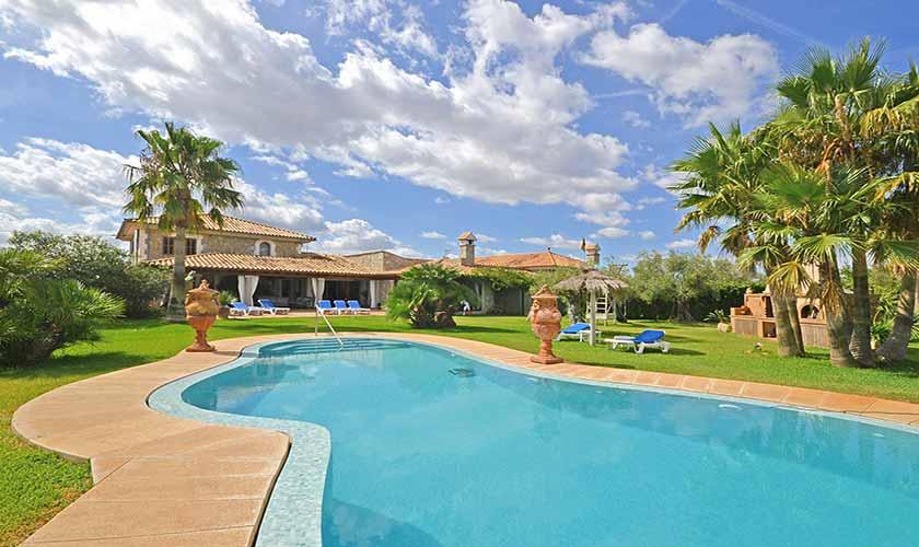 Pool und Finca Mallorca Norden PM 3712