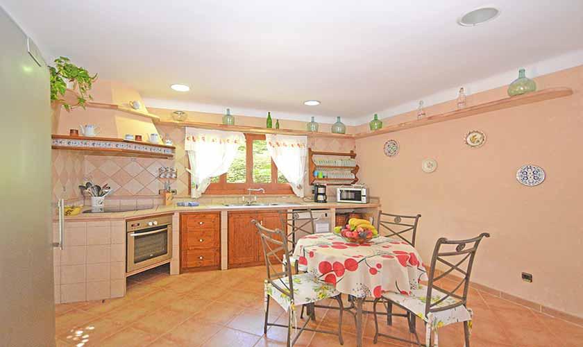 Küche Finca Mallorca Norden PM 3712