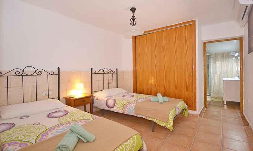 Schlafzimmer Ferienhaus Mallorca Port Alcudia PM 3714