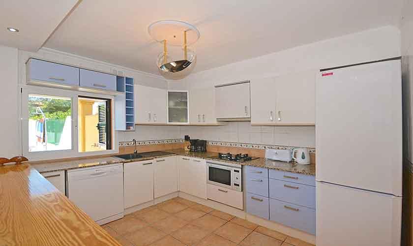 Küche Ferienhaus Mallorca Port Alcudia PM 3714