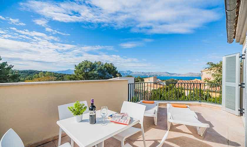 Dachterrasse Ferienhaus Mallorca Bonaire PM 3725
