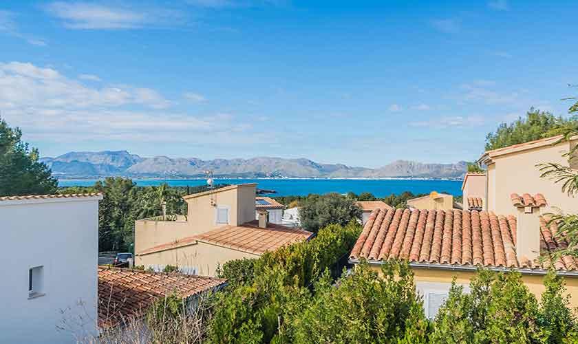Blick von oben Ferienhaus Mallorca Bonaire PM 3725