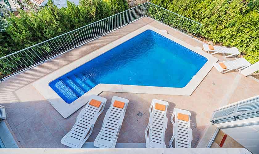 Poolblick Ferienhaus Mallorca Bonaire PM 3725