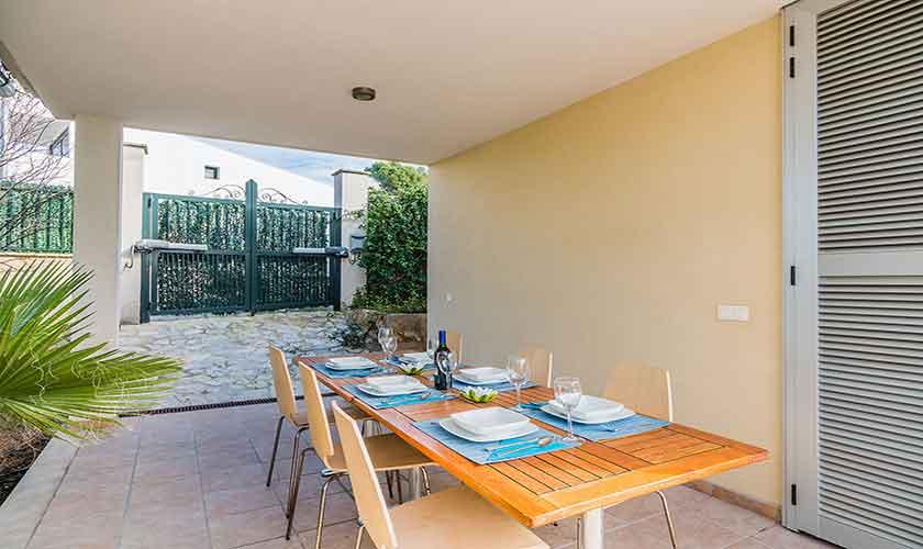 Esstisch Terrasse Ferienhaus Mallorca Bonaire PM 3725