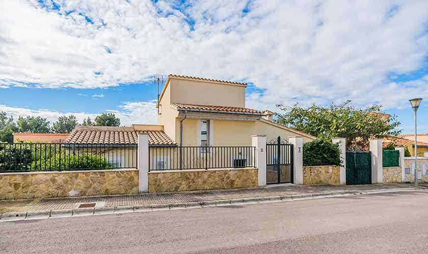 Blick auf das Ferienhaus Mallorca Bonaire PM 3725