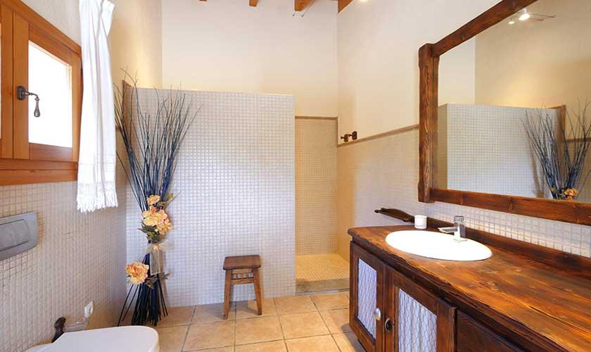 Badezimmer Finca Mallorca Nordküste PM 3730