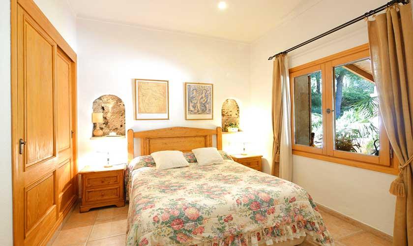 Schlafzimmer Finca Mallorca Nordküste PM 3730