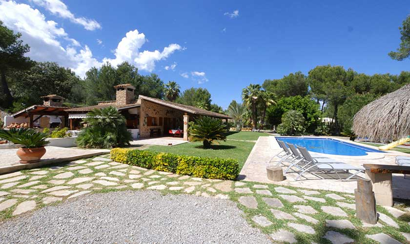 Pool und Finca Mallorca Nordküste PM 3730