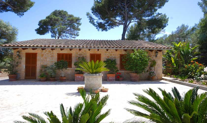 Blick auf die Finca Mallorca Nordküste PM 3730