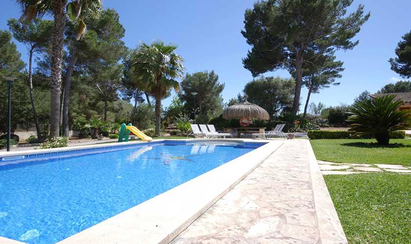 Poolblick Finca Mallorca Nordküste PM 3730