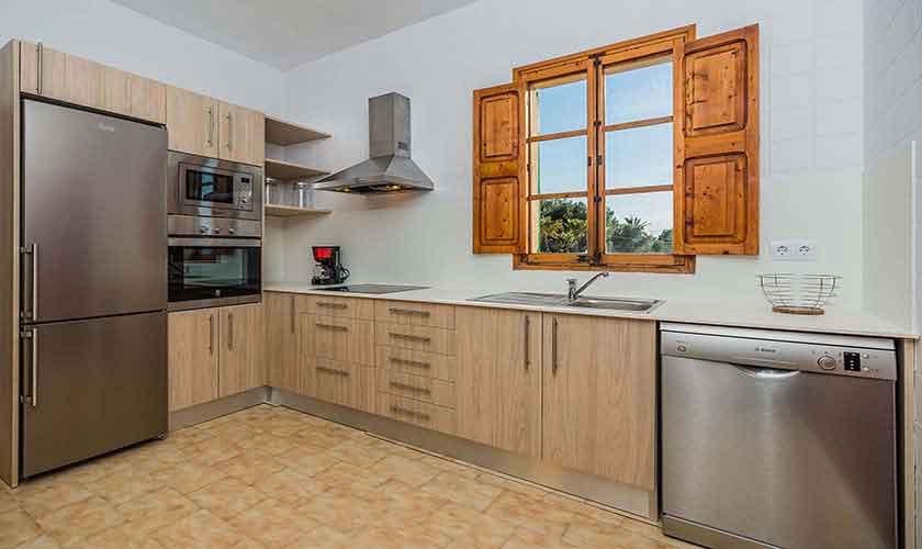 Küche Ferienhaus Mallorca Norden PM 3735