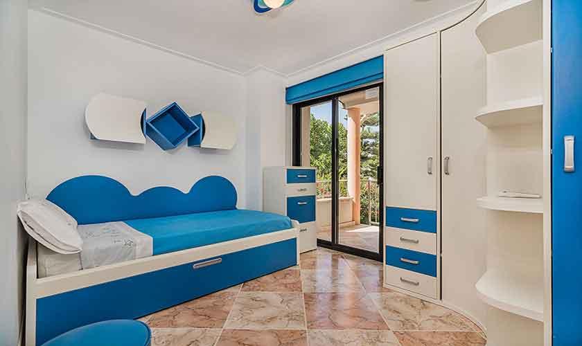 Schlafzimmer Strandhaus Mallorca PM 3742