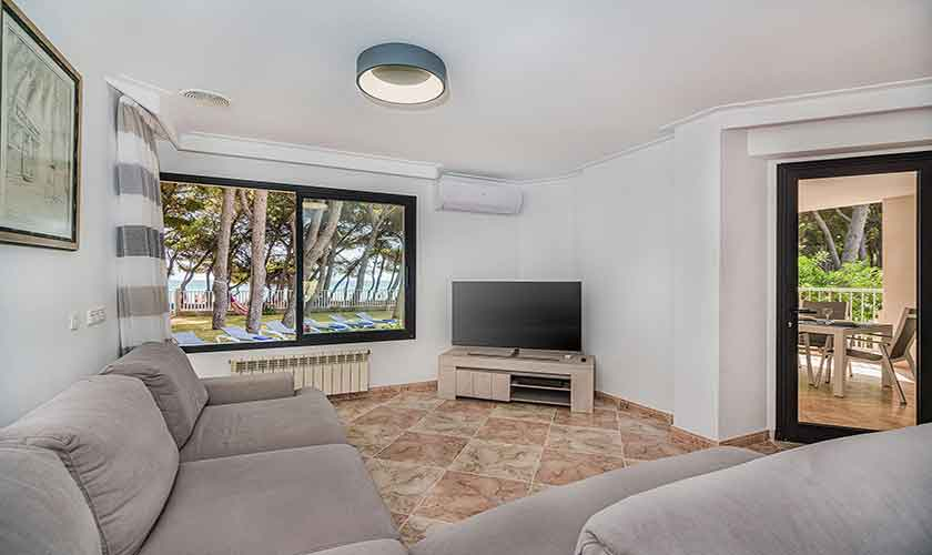 Wohnraum Strandhaus Mallorca PM 3742