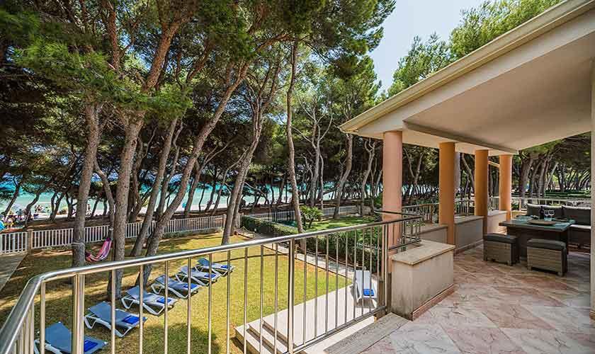 Terrasse Strandhaus Mallorca PM 3742