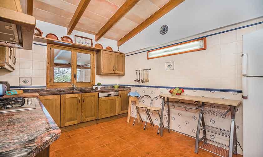 Küche Finca Mallorca Norden PM 3522