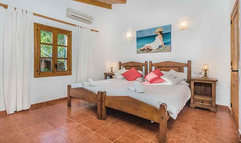 Zweibettzimmer Finca Mallorca Norden PM 3522