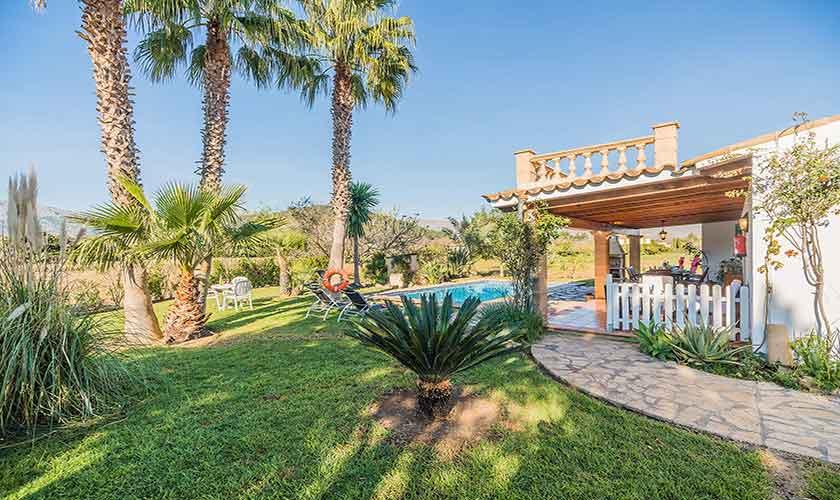Garten und Finca Mallorca Norden PM 3522