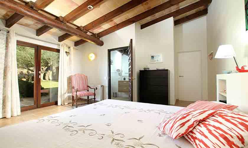 Schlafzimmer Finca Mallorca Norden PM 3760